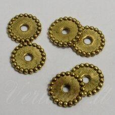 MD1400.1 apie 1,5 x 11 mm, sendinto aukso spalva, intarpas, apie 22 vnt.