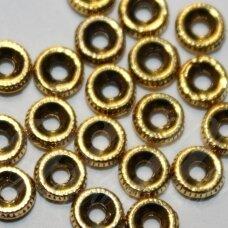 MD1400.3 apie 1.5 x 4.5 mm, sendinto aukso spalva, intarpas, apie 38 vnt.