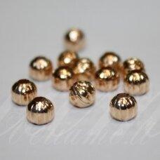 MD1410 apie 5.5 mm, aukso spalva, intarpas, 25 vnt.