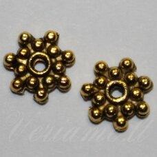 MD1410.5 apie 2 x 8 mm, sendinto aukso spalva, intarpas, 16 vnt.