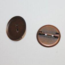 md2262.6 apie 24 mm skersmuo, vario spalva, sagės pagrindas, 8 vnt.