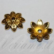 MD2802.5 apie 3.5 x 14 mm, sendinto aukso spalva, kepurėlė, 6 vnt.