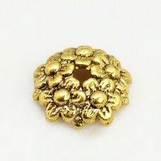 md2823.5 apie 10.5 x 2.5 mm, sendinta auksinė spalva, kepurėlė, 7 vnt.