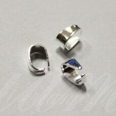 md3149.2 apie 8.4 x 5.7 x 3.8 mm, sidabrinė spalva, pakabuko detalė, apie 30 vnt.