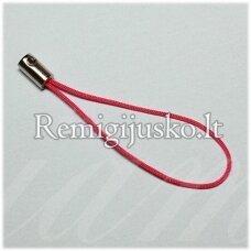 md3415 apie 50 mm, rožinė spalva, telefono pakabukas, 14 vnt.