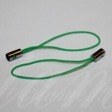 md3416 apie 50 mm, žalia spalva, telefono pakabukas, 14 vnt.