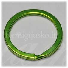 md3459.5 apie 30 x 2.5 mm, salotinė spalva, raktų pakabukas, 3 vnt.