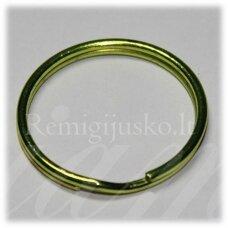 md3462.5 apie 28 x 3 mm, salotinė spalva, raktų pakabukas, 3 vnt.