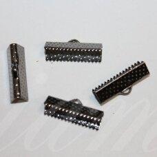 MD3917.6 apie 20 x 6 mm, metalo spalva, juostelių užspaudėjas, 16 vnt.