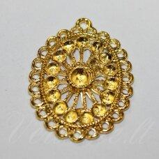 md6100 apie 31 x 23 mm, auksinė spalva, paskirstytojas, 3 vnt.
