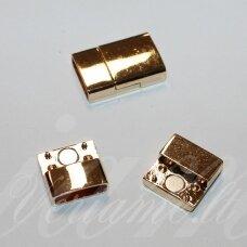 md7041 apie 23 x 15 x 6 mm, skylė 4 x 14 mm, auksinė spalva, 1 vnt.