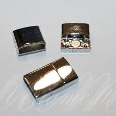 md7158 apie 23.5 x 15.5 x 5.5 mm, skylė 4 x 14 mm, metalo spalva, 1 vnt.