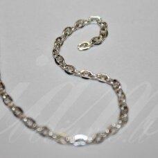 MDG0047 apie 2 mm, sidabrinė spalva, grandinėlė, 1 m.
