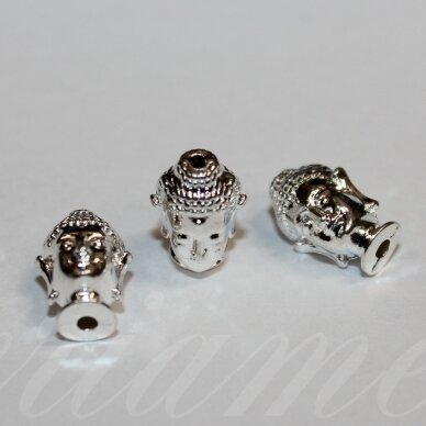 md1248.6 about 12.5 x 8.5 mm, silver color, insert, 5 pcs.