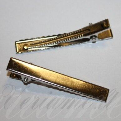 md2060 apie 57 x 8 mm, metalo spalva, segtukas, 7 vnt.