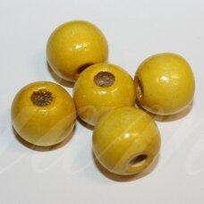 medk0361 apie 13-14 mm, apvali forma, geltona spalva, apie 24 vnt.