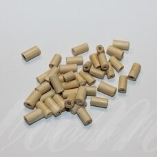 medk0091 about 7 x 3.5 mm, cylindrical shape, light, brown color, about 19 g.