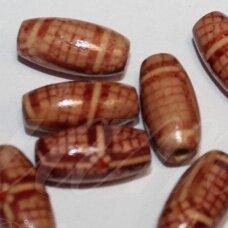 medk0177-pai-15x7 apie 15 x 7 mm, pailga forma, marga, apie 28 vnt.