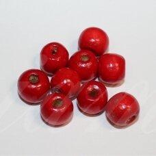 medk0352 apie 9 mm, apvali forma, raudona spalva, apie 65 vnt.