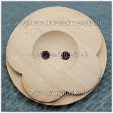 med0010 apie 38 x 6 mm, medinis ruošinys, saga, 1 vnt.
