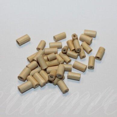 medk0091 apie 7 x 3.5 mm, cilindro forma, šviesi, ruda spalva, apie 19 g.