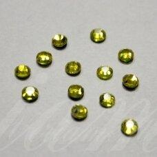 mklsw0226 ss20 apie 4.60 - 4.80 mm, light topaz (226), klijuojama akutė, apie 45 vnt.