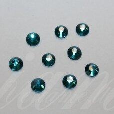 mklswlg0229 ss10 apie 2.70 - 2.90 mm, blue zircon (229), klijuojama akutė, su klijais (klijuoti lygintuvu), apie 150 vnt.