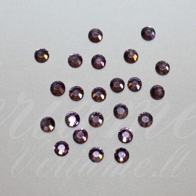 mklsw0212 ss16 apie 3.80 - 4.00 mm, light amethyst (212), klijuojama akutė, apie 75 vnt.
