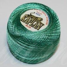 msl0107 šviesi, žalia spalva, siūlai, 20 g.