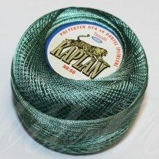 msl0109 tamsi, žalia spalva, siūlai, 20 g.
