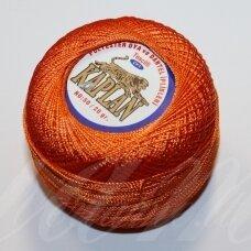 msl0243 oranžinė spalva, siūlai, 20 g.