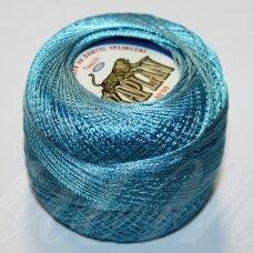 msl0293, mėlyna spalva, siūlai, 20 g.