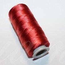 sl0304, raudona spalva, siūlai, 25 g.