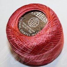 msl0326, šviesi, raudona spalva, siūlai, 20 g.