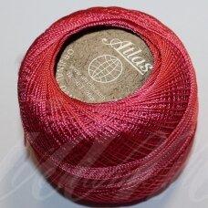 msl0344, šviesi, raudona spalva, siūlai, 20 g.