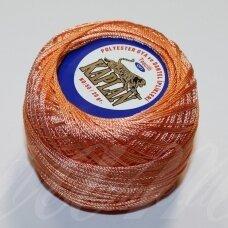 msl0352, šviesi, oranžinė spalva, siūlai, 20 g.