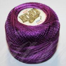 msl0549, violetinė spalva, siūlai, 20 g.