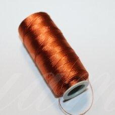 sl0918, ruda spalva, siūlai, 25 g.