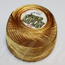msl1004, auksinė spalva, siūlai, 20 g.