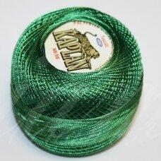 msl1006, žalia spalva, siūlai, 20 g.