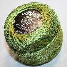 msl3348, žalia spalva, siūlai, 20 g.