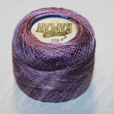mslmunzur, šviesi, violetinė spalva, siūlai, 20 g.