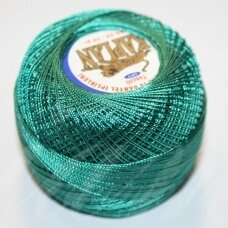 mslner-3, žalia, siūlai, 20 g.