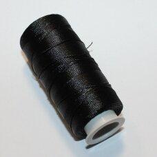 SLsiyah juoda spalva, siūlai, 25 g.