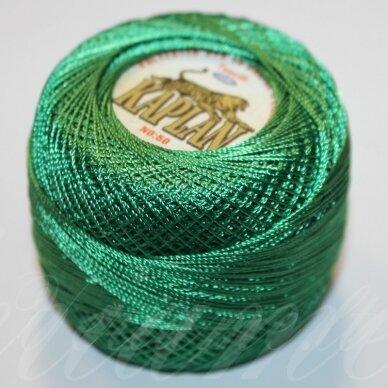 msl0110, žalia spalva, siūlai, 20 g.