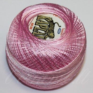 MSL0605 šviesi, rožinė spalva, siūlai, 20 g.