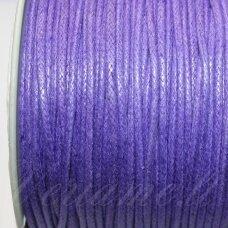 mv0015 apie 2 mm, violetinė spalva, medvilninė virvutė, 5 m.