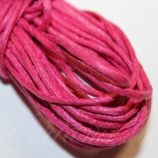 mv0034 about 2 mm, pink color, cotton string, 5 m.