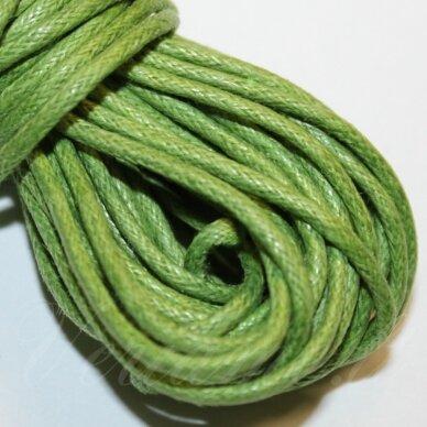 mv0028 apie 1 mm, salotinė spalva, medvilninė virvutė, 10 m.
