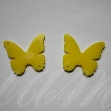 osp1h02-drug-30x20. about 30 x 20 mm, butterfly shape, organic glass, pendant part, 1 pc.